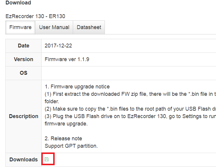 usb flash drive firmware download
