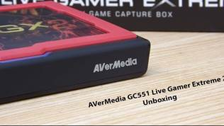 AVerMedia GC551 Live Gamer Extreme 2 Unboxing