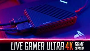 AVerMedia Live Gamer Ultra 4K Game Capture - Review