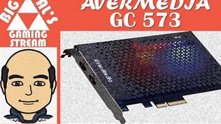 Big Al's Gaming - Unboxing: Avermedia GC573 PCIe 4K60/2K144 Capture Card