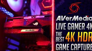 AVerMedia Live Gamer 4K HDR Game Capture - Review