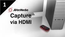 How to Capture PC with AVerMedia LGP via HDMI