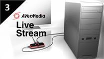 Live Stream Desktop Screen with AVerMedia LGP (Live Gamer Portable)