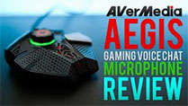 AVerMedia Aegis Gaming Voice Chat Microphone - Review