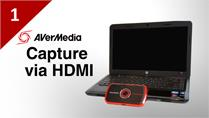 How to Capture Laptop with AVerMedia LGP via HDMI