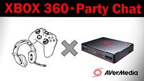 How to record XBOX 360 Party Chat with Game Capture HD II