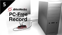 Record Desktop Screen with AVerMedia LGP (Live Gamer Portable) in PC-Free mode