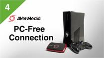 Connect Xbox 360 to AVerMedia LGP (Live Gamer Portable) in PC Free Mode