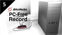 Record Desktop Screen with AVerMedia LGP (Live Gamer Portable) in PC-Free mode