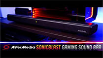 AVerMedia SonicBlast Gaming Sound Bar GS333 & GS335 - Review