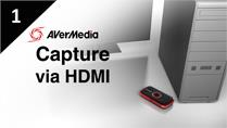 How to Capture PC with AVerMedia LGP via HDMI