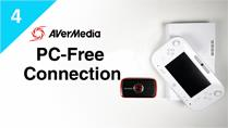 Connect Wii U with AVerMedia LGP (Live Gamer Portable) in PC-Free Mode