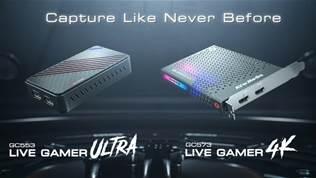 AVerMedia Live Gamer 4K (GC573) & Live Gamer ULTRA (GC553) Official Trailer