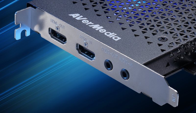 Flexible Audio Connection. LGHD2 has both input and output 3.5mm audio ports.