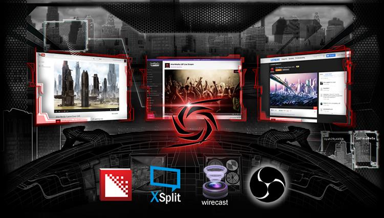 Your Choice of Application and Platform. AVerMedia LGP with OBS, Xsplit, RECentral on YouTube & Twitch
