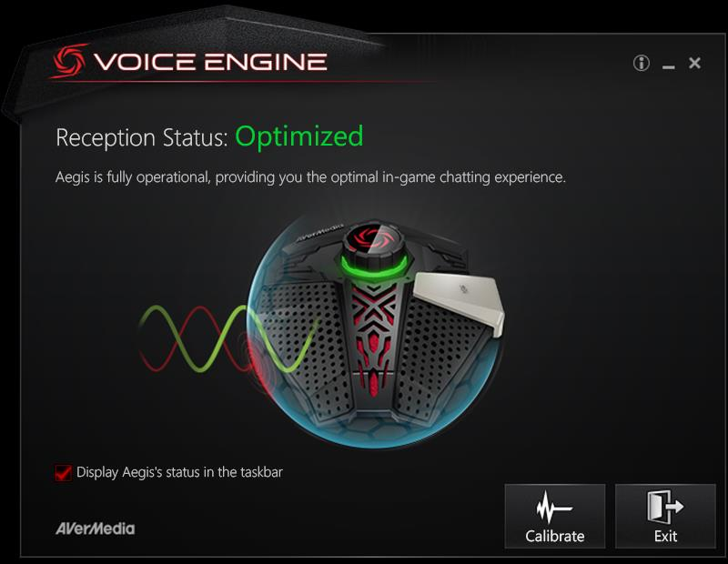 Calibrate your Aegis Microphone through the software.