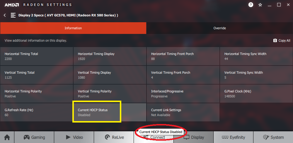 Disable Hdcp Radeon