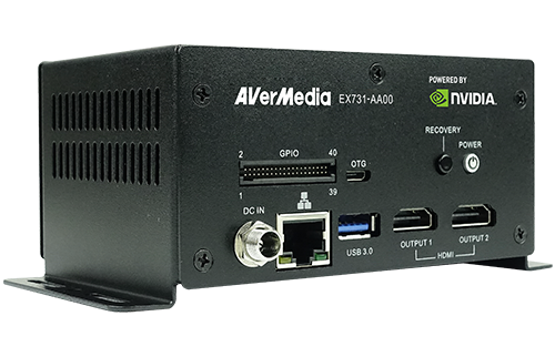 Standard Box PC EX731-AA00-2AC0 equips NVIDIA® Jetson™ TX2