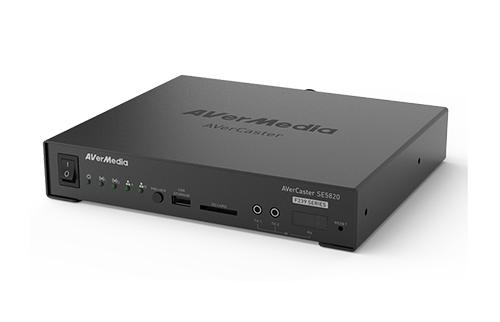 Dual HDMI/3G-SDI HEVC 1080p60 Compact Encoder