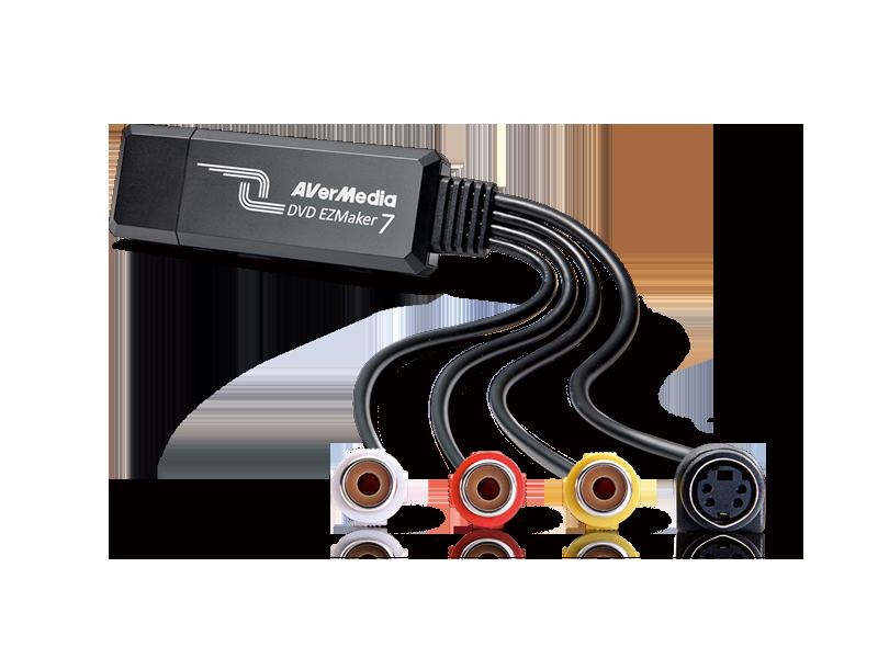 EZMaker USB Video Capture C039P│AVerMedia
