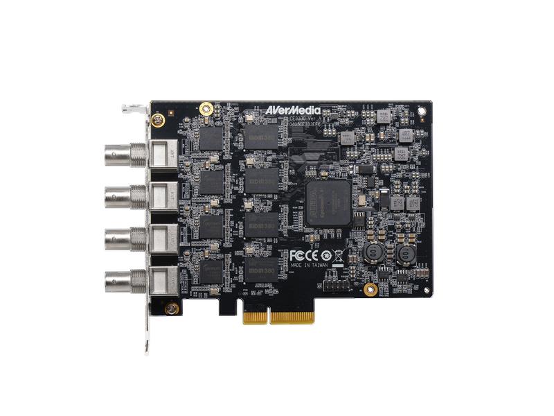 4 Channel SDI PCIe Capture Card