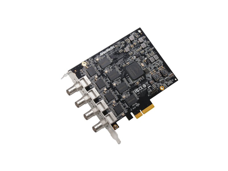 4 Channel SDI PCIe Capture Card