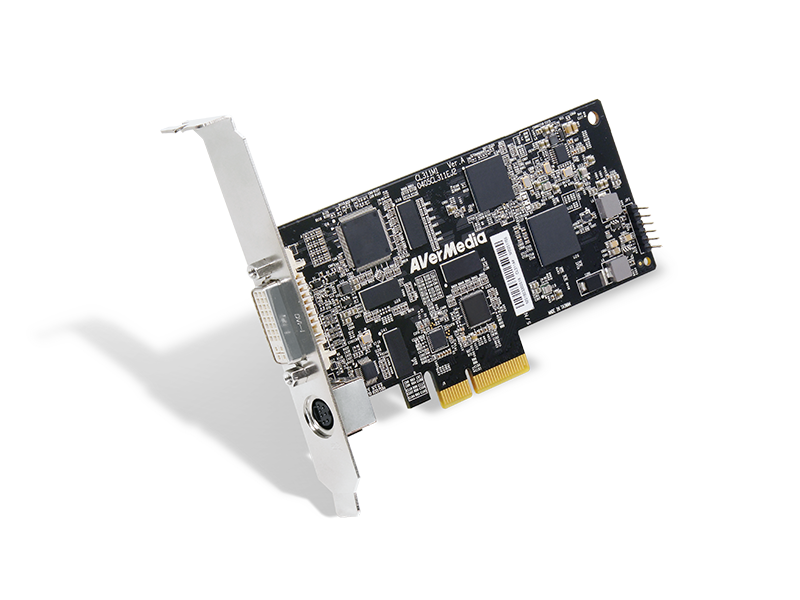 AVerMecia 4K Multiple Inputs Low Profile Video Capture Card CL311-M1