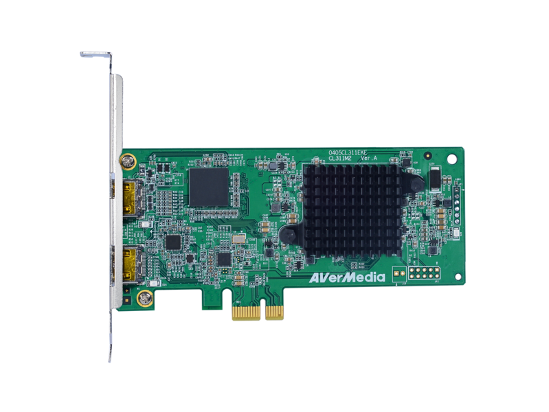AVerMecia Full HD HDMI 1080P 60FPS PCIe Capture Card CL311-M2