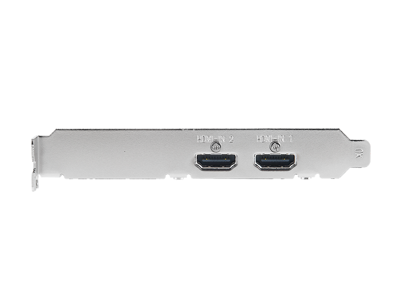 4Kp30 HDMI 2-Channel Low Profile Video Capture Card