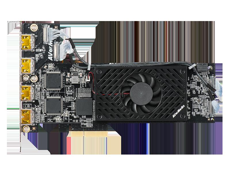1080p60 HDMI 4-Channel PCIe Video Capture Card w/ Low Profile