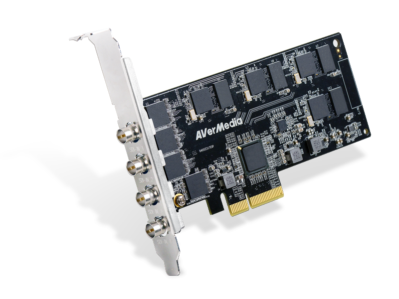 CL334-SN 4 Channel SDI Full HD PCIe Capture Card
