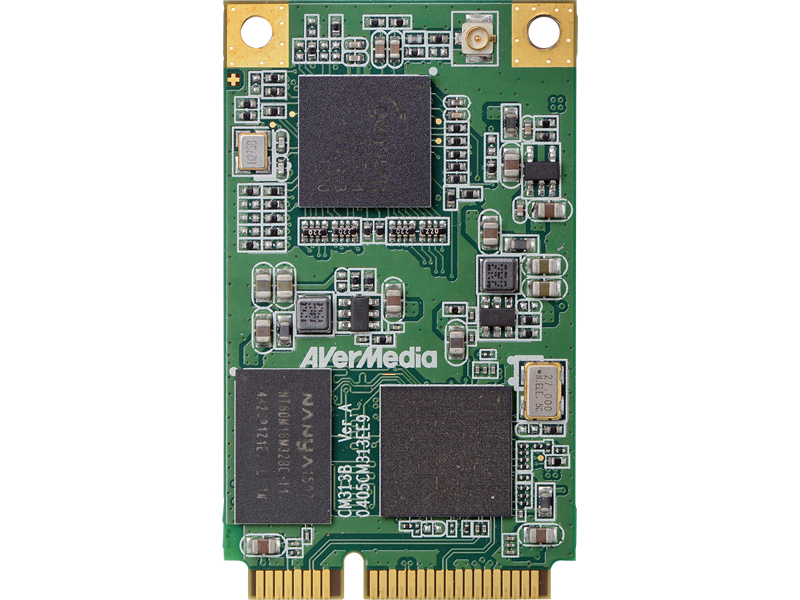 CM313BW Wide Temperature MiniPCIe 3G-SDI Capture Card