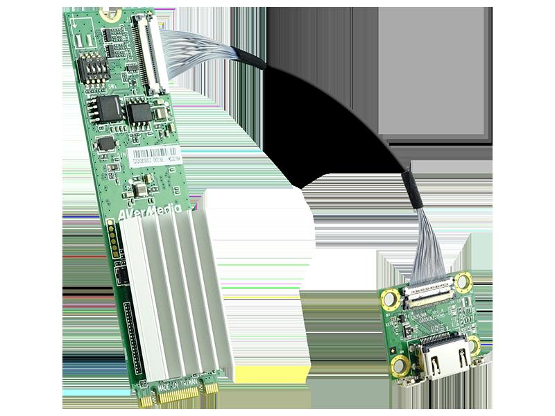 AVerMecia 4K HDMI M.2 Compact Video Capture Card CN311-H