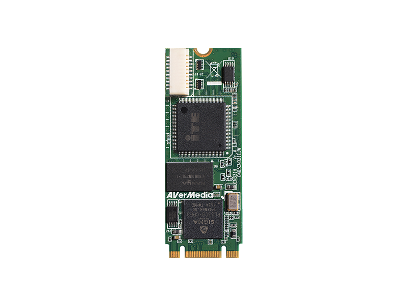 AVerMecia H.264 H/W Encoding  M.2 Capture Card CN331-H