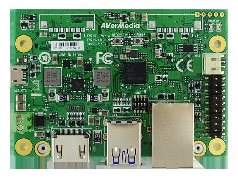 Standard Carrier Board EN715-AA00-0000 for NVIDIA® Jetson™ (Version B01)/Xavier™ NX Module
