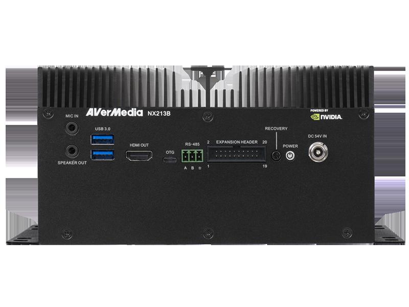 Standard Box PC NX213B Equips NVIDIA® Jetson™ Xavier™ NX Module