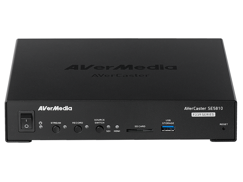 AVerCaster SE5810 1-CH HDMI/3G-SDI HEVC 1080p60 Compact Encoder